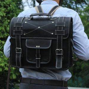 16 Convertible Laptop Messenger Bag for Men Women Briefcase Laptop Bag Cross Body Shoulder Bag Backpack Bag Laptop Portfolio Messenger Bag