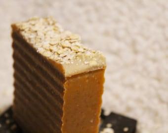 It's oatmeal honey organic soap