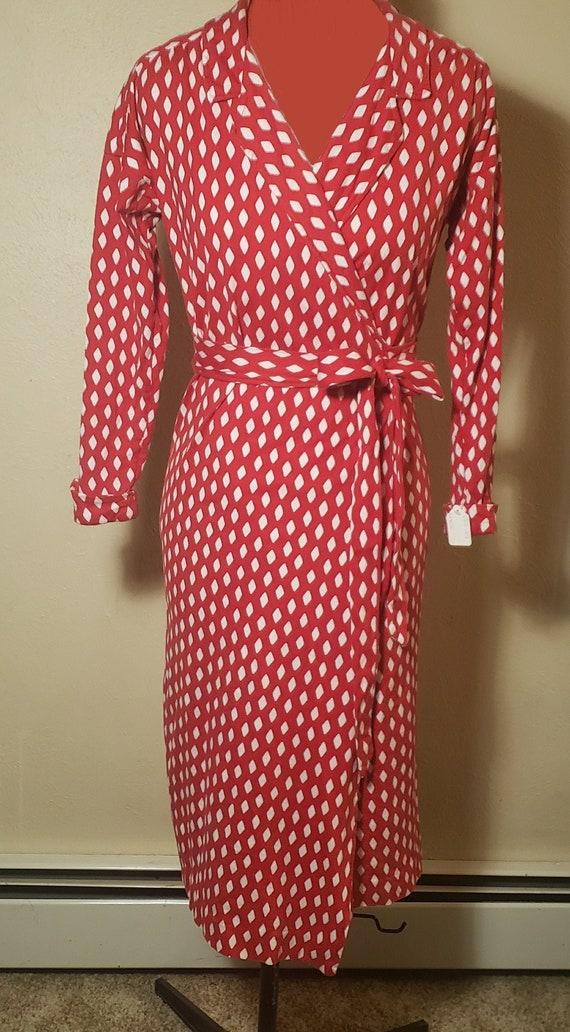 Diane Von Furstenberg Vintage 1970's Wrap Dress