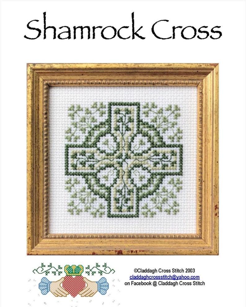 PDF Celtic Crosses Opus 1 Cross Stitch Pattern Designer David Jackson Claddagh Cross Stitch Company 4 Individual Patterns Included