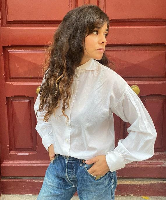Dries Van Noten pre-owned white shirt, vintage shi