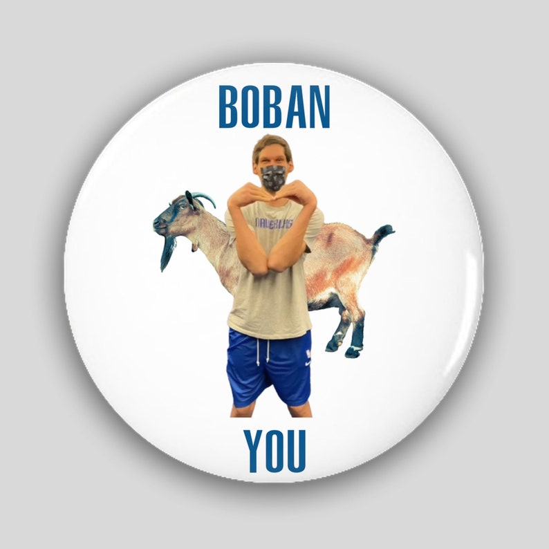 Boban Loves You Button
