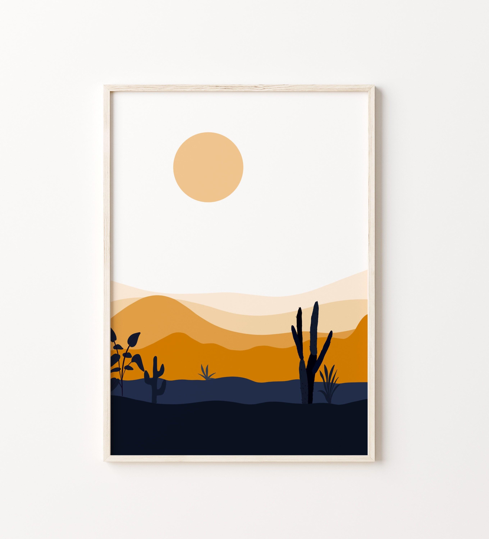 Mountain Print Australia Print Desert Wall Art Set of 20 Prints ...
