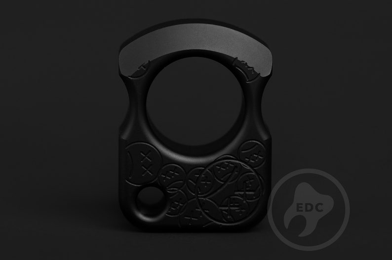 SFK Knuck Duralumin Keychain EDC Tool Every Day Carry SFK 01 Stamp Knuck Keychain tactical keychain Luxury Ring Accessories for Men Gifts