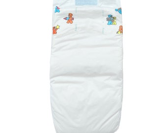 Plastic 1996 Pampers Baby-Dry Stretch Size 5 Large Disposable Diaper