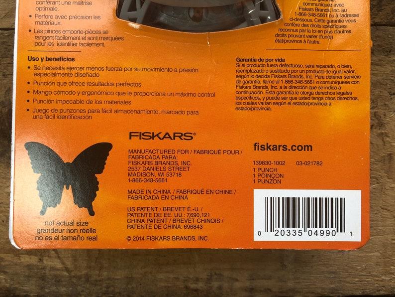 Fiskars Butterfly Fly Away craft punch NIB