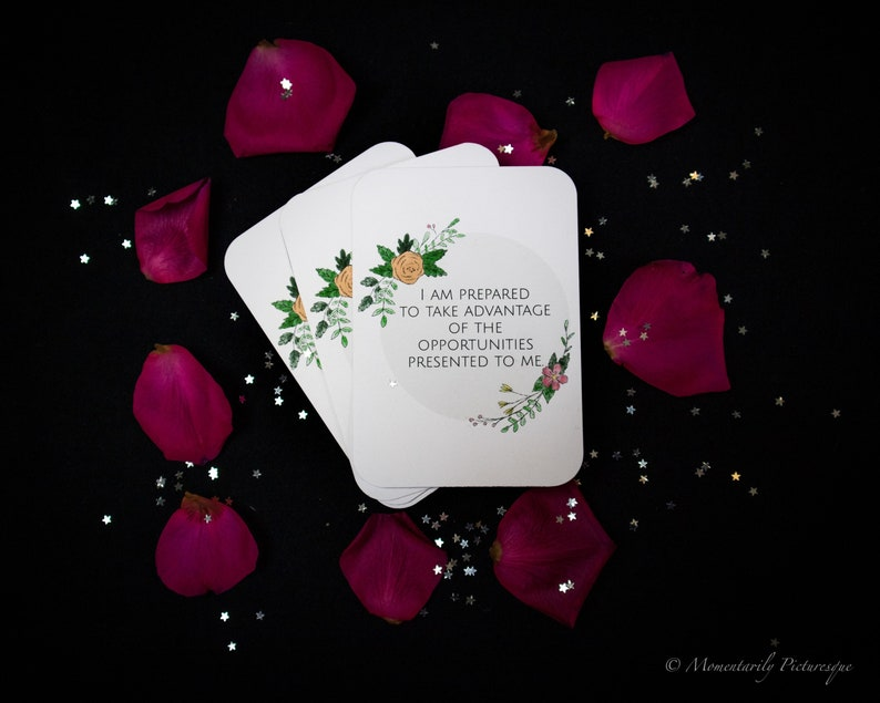 Positive affirmation cards for women in business image 0