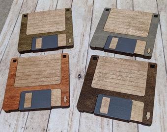 "3.5"" Floppy Disk Coaster Set"