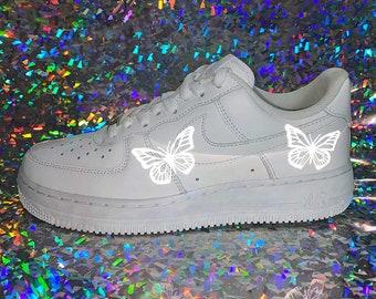 3M Reflective Butterfly Old Skool Vans – Nuwavezz   Vans