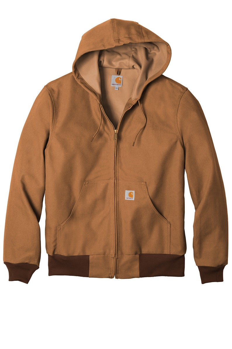 33/% OFF Carhartt Thermal-Lined Duck Active Jacket