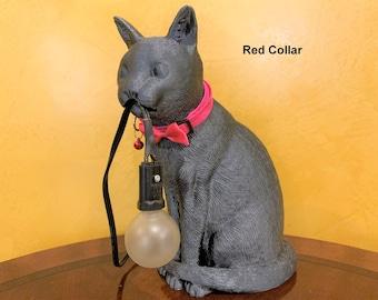 Ash - Gray Cat Accent Light
