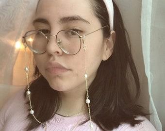 Glasses chain | Etsy