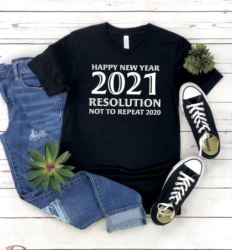 Frohes neues Jahr 2021 Shirt Neujahr Shirt Geschenk für ...