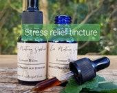 15ml LEMON BALM Herbal Tincture Anti Anxiety Organic Remedy - Natural Stress Relief - Insomnia, Sleeplessness, Sleep Disorder, mood lifting