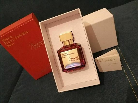 Maison Francis Kurkdjian Baccarat Rouge 540 Eau De Parfum 70 Etsy