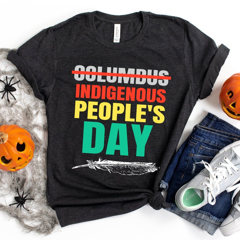 Indigenous People'S Day Not Columbus Day Native American Perfect Gift Personalized T-Shirt Masswerks Store