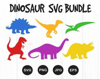 Dinosaur SVG   Dinosaur SVG File   Dinosaur SVG Bundle   Dinosaur Svg Files for Cricut   Dinosaur Clipart   Dino Svg   Vector   Silhouette