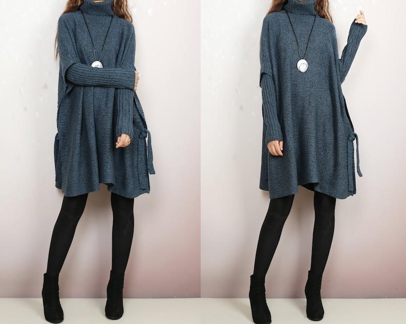 Oversized Sweater sweater tunic dress jumper tunic pullover image 1