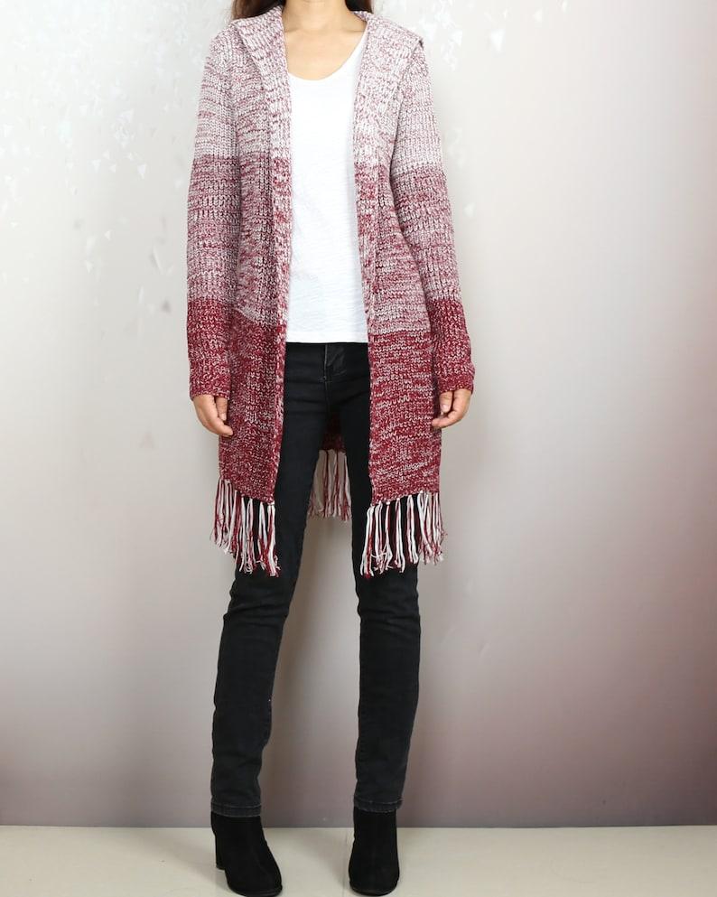 cardigan Sweater Cardigan Women Y2096 Hooded Cardigan Plus Size Knit Hoodie Long Cardigan knit Jacket Oversized sweater