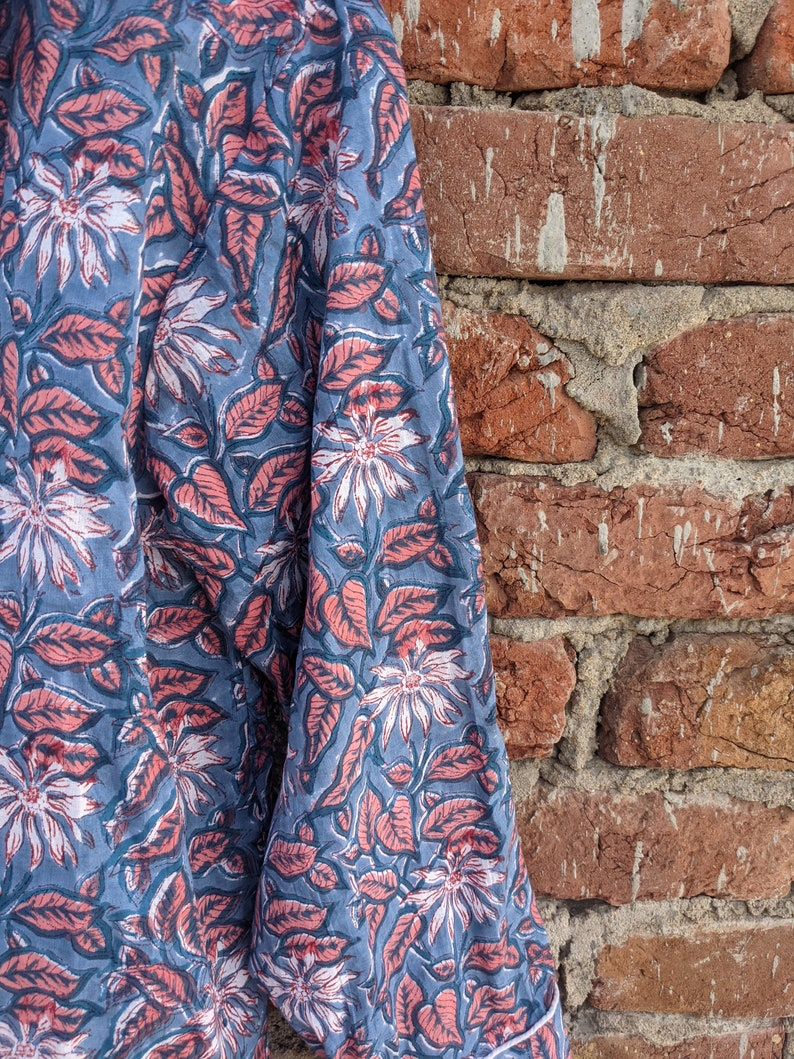 Ladies Loungewear Cotton Pyjamas Fashion Cotton Floral Garden Pijamas Indian Nightwear Pajamas cotton bird print Pajama Set