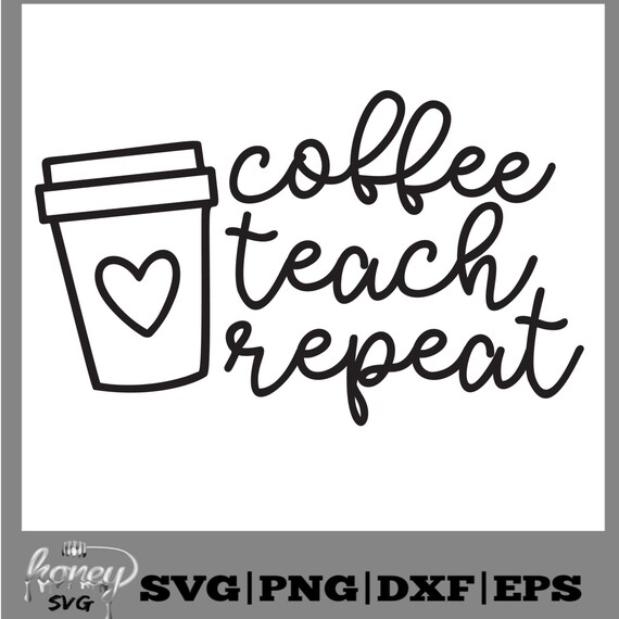 Repeat Pencil Set Coffee #2 Pencil Teacher Stationary Teach