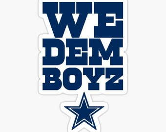 Reusable Tumbler Dallas Cowboys Starbucks Cup Dallas Cowboys Fans Gift We Dem Boys Football Sports Drink For Him or Her