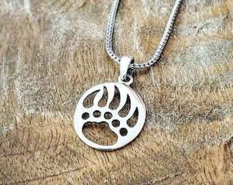Sterling Silver Bear Claw Charm