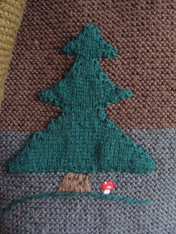 Hand Knitted Austrian Trachten Jacket, Austrian H… - image 10