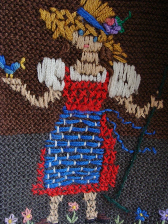 Hand Knitted Austrian Trachten Jacket, Austrian H… - image 5