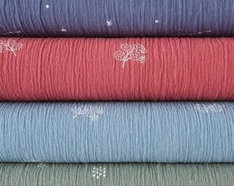 "Lightweight cotton fabric yardage,  dimension 10x130 cm - 4"" x 51"""