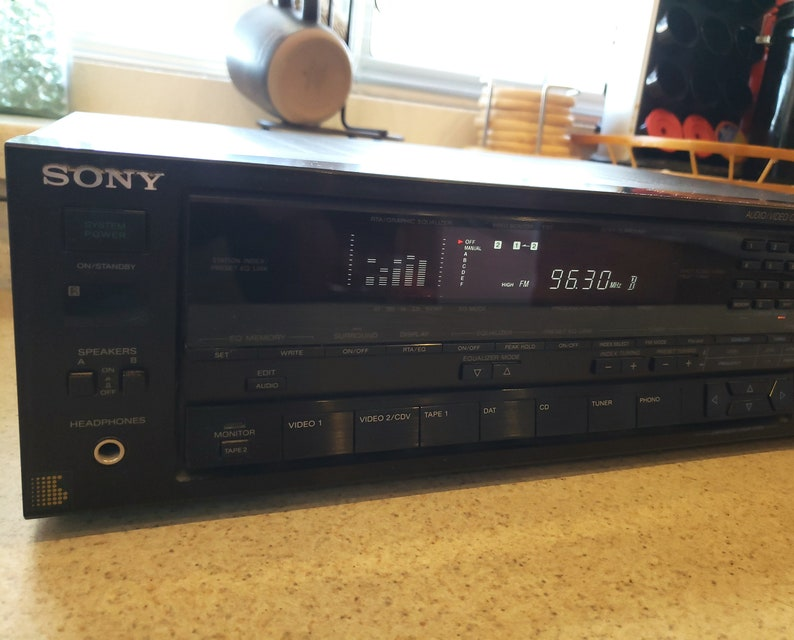 Sony Channel Stereo Home Receiver Audio Video Control Center