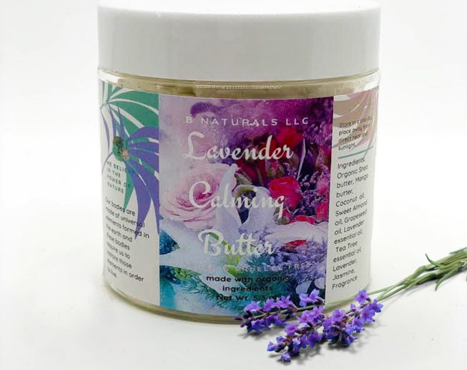 Lavender Calming Body Butter