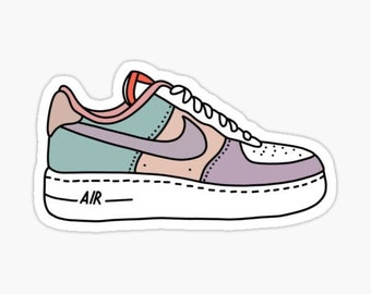 Shoe Stickers Air Force 1   Etsy