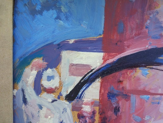 Original PaintingArtist KnyshevskyUSSR Vintage Socrealism Art WorkArt/&CollectiblesHome decorWall HangingPicture