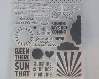 Simon Says Stamp Been there Sun that Photopolymer Stamp set