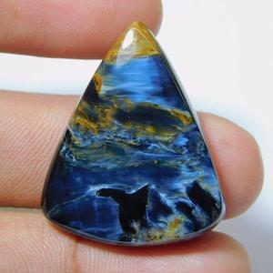 20 CT 100 /% Rare Natural Pietersite Cabochon 27x16x5 mm Pietersite Loose Gemstone Semi Precious Top Quality Pietersite Making For Jewelery