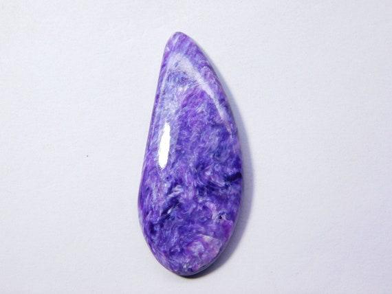 Charoite Cabochon 35.95 Cts 29x22x7 MM AM4193 Charoite Jewelry Charoite Stone Charoite Top Quality Natural Charoite Gemstone Gemstones