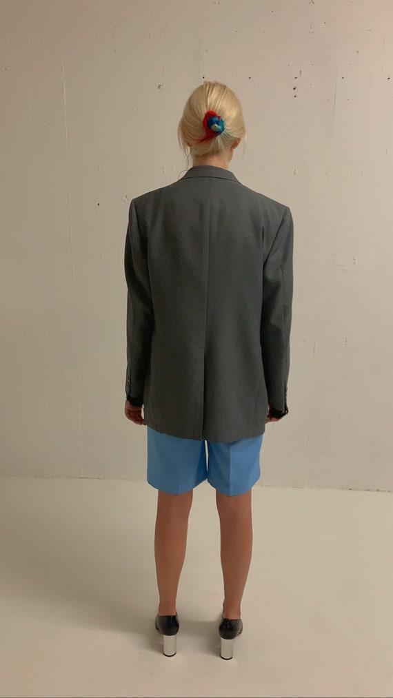 Vintage Oversized Grey Blazer - image 5
