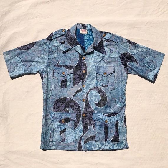 70s Hawaiian Leisure Shirt Jac