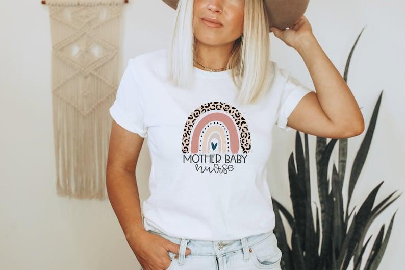 Gearhuman –  Mother baby Nurse Shirt  Baby Nurse Shirt  Nurse Shirt – 3D Tshirt – TH-0090