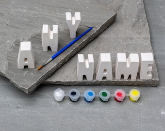 Personalized Name Painting Craft Kit
