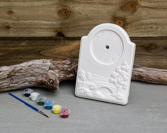 Paint Your Clock Bridge | Creative Activities | Gift Ideas | Etsy Finds