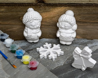Paint Your Winter Decorations