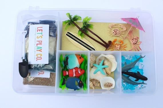 Sensory Bin  Sensory Kit  Sensory Box  Beach  Water Bead