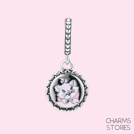 Aristocats Marie Dangle Charm Cat Charm fit Pandora | Etsy