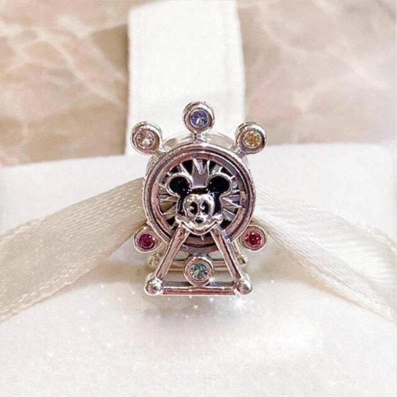 Disney Pandora Charm, Mickey Ferris Wheel Charm, California Adventure  Pixar, Disney Parks, Disneyland, fit Pandora Bracelet