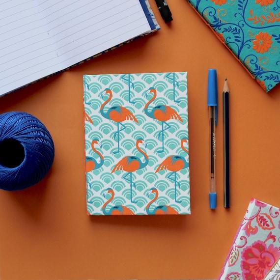 Chain Stitch Journals | A6 Handmade Chain Stitch Notebook | Mini Journal