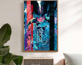 Ghost In The Shell Poster Etsy