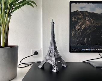 Eiffel tower desk art scale model