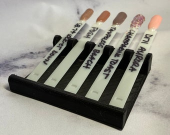 Swatch Stand | Swatch Rest | Dip Nail Swatches Holder | Nail Polish Swatch | Dip Nail Accessories